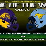RT @version2media: Our Game Of The Week for Week 9: Mcallen High Bulldogs vs. Mcallen Memorial Mustangs http://t.co/RDMLyABUvB