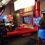 Behind the scenes @ALNewsNetwork http://t.co/enhBmlJ1o2