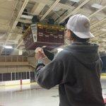 And so it begins #cobberhockey #rollcobbs http://t.co/TzLDUHkYFZ