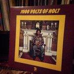 Firing up 1000 VOLTS OF HOLT in honor of the legendary John Holt #RIP #JohnHolt #TheParagons http://t.co/JSoxKCpmO8