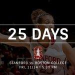 25 Days. Tickets: http://t.co/iUrH9YLGBz. #GoStanford http://t.co/55XVxPfLnF