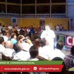 RT @CAMPCHEPROGRESA: Gobernador @ferortegab felicita a autoridades educativas y alumnos del #Cecytec por 20 aniversario. #Campeche http://t.co/0ltfMD9LFq