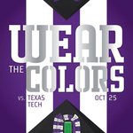 Color block the Carter this weekend. Students in purple! #LOUDER http://t.co/GJL5no1iUe