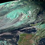 RT @DonegalWeatherC: UP TO DATE SATELLITE VIEW OF EX HURRICANE GONZALO JUST ARRIVING OVER IRELAND SOME TIME AGO http://t.co/CPeL5FOKl7