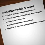 RT @tvnnoticias: Foto: Medidas de retorsión que podría aplicarle #Panamá a #Colombia #ParaísosFiscales http://t.co/AMfHpwHxom