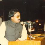 RT @MQMTelevision: #TheRightMan Altaf Hussain rare picture (~1986) #MQM #IamMohajir http://t.co/IQH2p9E2qL