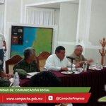 #AHORA Gobernador @ferortegab encabeza reunión de prevención y seguridad por lluvias. @cenecam http://t.co/O9mgdABWpF