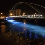 St. Patricks Bridge in yyc - what #yxe could have had with some vision #trafficbridge http://t.co/dwitfCAdUC""