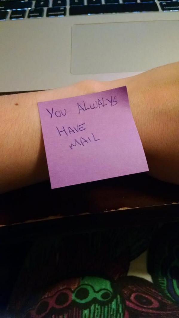 My wearable watch http://t.co/uCpNrig9bO