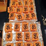 my rice crispy treats are ready for the @SFGiants World Series tomorrow! #OrangeOctober @hunterpence @SergioRomo54 http://t.co/EF9kHgxlWE