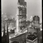Rockefeller Center and RCA Building from 515 Madison Ave - Photo by Samuel H Gottscho, 1933 (Shorpy) | #NYC #NY http://t.co/w2k6jYsf4e
