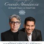 RT @cala: Acompáñanos a la experiencia para crear #abundancia. #21DíasDeMeditación junto a @DeepakChopra http://t.co/nvttPMc47W