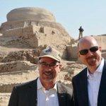 CG Heath & USAID Skip Waskins taking in Pakistans amazing history & culture! #WowPakistan #Pakistan #culture http://t.co/LXXOpk0KKM