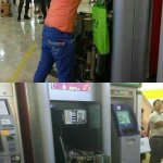 Real ATM hacker: a womans card was swallowed by an ATM, then she disassembled that machine by her own hand. http://t.co/AQVrIjMNGp