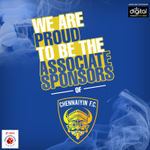 We are proud to be the associate sponsors for @ChennaiyinFC. We kicking of the association with a home game today! http://t.co/vmq8u55t7P