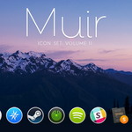 RT @sdw: Muir Set 2: replacement icons for Yosemite! Grab em! (includes Slack, Sketch, Rdio, more!) https://t.co/L5goMVpM1p http://t.co/QcX6p3xAlk