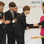 RT @kor_celebrities: EXO-Kが21日、「C-フェスティバル」の広報大使に任命された。 http://t.co/LQUrHCzPhA