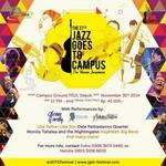 The 37th Jazz Goes To Campus. Sunday, 30 Nov 2014 at FEUI | @JGTCfestival https://t.co/wXavjhYJYs