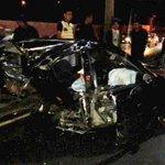 #AlCierre Conductor y copiloto fallecen en percance vial, km.14 CA-9 al Sur Precaución en #trafico ambas vías #PMTVN http://t.co/1SIexqxrHM