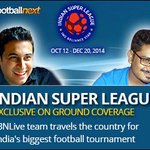 RT @IBNLiveSports: @subhasishdutta1 resumes our on-ground #ISL coverage with @ChennaiyinFC 's first home game today http://t.co/nvceS6rFGv