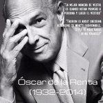 Óscar de la Renta falleció este 20 de octubre en su residencia ubicada en Connecticut, Estados Unidos. Tenía 82 años. http://t.co/sL3Eah6Z1w