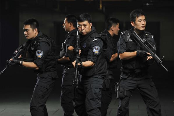 real swat team in action blockbuster styled film posters