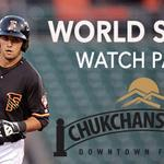 Details on our #WorldSeries Watch Parties. Theres a HUGE perk if you come Tuesday night || http://t.co/8icyS5vrgS http://t.co/TuVI4JQ8rZ