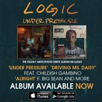 RT @DefJamRecords: Lets go #RattPack, keep pushing it to #1 @Logic301 #UnderPressure Available Now! http://t.co/L10AvAwDpu http://t.co/pvWJjYhMDF