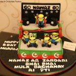RT @fkhan75: Birthday cakes now in high demand by kids asking for the #GoNawazGo slogan. @ImranGhazaliPK @FaisalJavedKhan @DrAwab http://t.co/tFzdV9wqtv