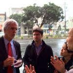 Gracias to @EnriquePenalosa & @ITDP_HQ & @sfbike for helping #SF #transitfirst policy, #BRT & #VisionZero #richmondsf http://t.co/6xWhTxzCSw