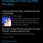 RT #Cortana right again on the prediction of Dancing with the Stars. Makes #iphone6 #Siri #GoogleNow obsolete #DWTS http://t.co/VjPWFUjBUZ