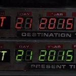 Ровно через год Док и Марти МакФлай окажутся в будущем ;) http://t.co/daQqTcuwp7
