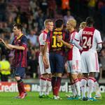 RT @MarcBartra: Esta noche vuelve la Champions en el Camp Nou, contra el Ajax! Força Barça!!! ???????? Som-hi ???? http://t.co/xrc2aHk0OH