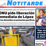 #21oct [Titulares] ONU pide liberación inmediata de López y los detenidos en protesta pacíficas. #360UCV http://t.co/5UtlsCDTC3