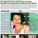 RT @NoInvisibles: Un 2ºtest confirma q Teresa Romero ha superado la infección #Ébola [VÍDEO] http://t.co/wpAAuoxhnF Vía @sextaNoticias http://t.co/5NBHWersvM