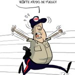 """""""@FMPinilla: #CARICATURA diario La Voz si a la PNB la roban, que queda para nosotros? http://t.co/JOmRSzOTDT"""""""