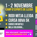Només queden 10 dies pel #weekendrunningfestival amb la Rodi Mitja Lleida i més. Inscriu-te a http://t.co/2W6eSgnJM0 http://t.co/RLsJl3l76z