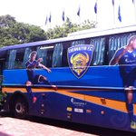 RT @gouramangi19: @ChennaiyinFC team bus ???? on way to the #Marina_Arena! First home match @IndSuperLeague looking forward 2 the evening! http://t.co/Nn8ugK5FIB