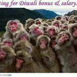 Offices across India #Diwali #bonus http://t.co/90DStKdoAM