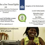 This Wednesday: follow #VC4Youth! Lets discuss SMEs & youth entrepreneurship in Zimbabwe! @263Chat @NLinZimbabwe http://t.co/RNirCNkjGm