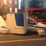 This flying car is on 14th St. right now! #AmericaAnswers #FixMyCommute http://t.co/Dw75e4QUcc