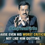#KejriwalFirSe because even his worst critics did not like him quitting. http://t.co/JjhYLmQF6M
