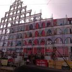 #Vijay anna fans Mega Arch is going 2 ready n @RamCinemas fr..our #KATHTHICelebrationStarts ..! http://t.co/ssWBBZrF0L