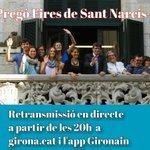 A les 20 h podeu seguir el pregó dAstrid21 i @corgeriona a http://t.co/qBfhx95tO8 i l#app @GironaIn #FiresGirona http://t.co/hWj978Qxvc