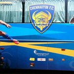RT @IndSuperLeague: And we just spotted the @ChennaiyinFC team bus! Looks great! #LetsFootball #HeroISL http://t.co/vwWHZRxJTS