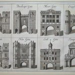RT @SirWilliamD: I give you the eight gates of old #London published c.1720. Would that they had been preserved. http://t.co/0HbKtrmtnF