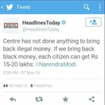 RT @HasibaAmin: As we celebrate the auspicious occasion of Dhanteras lets ask #BJP. Where r our individual 15Lakh Rs? #Mera15Lakhdo http://t.co/EB4FJp7rhz