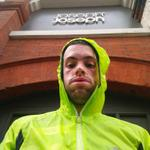 The I #survived Hurricane Gonzalo run to work face! Nothing compared to the Ride 100 (87) in Hurricane Bertha http://t.co/pKAeuInL8e
