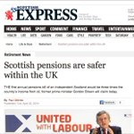 RT @GML1320: SUPER HAPPY FUN QUIZ TIME! Guess which article was printed before the #indyref & which article was printed after. http://t.co/FgUXEw25sc