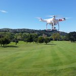 Out with the #dji vision + today on a stunning #huttvalley day #marketing #golf talk to us today about marketing! http://t.co/v8dhK546dN